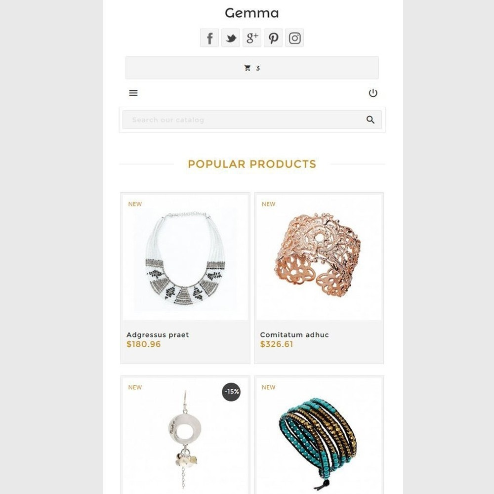 theme - Jewelry & Accessories - Gemma - 11