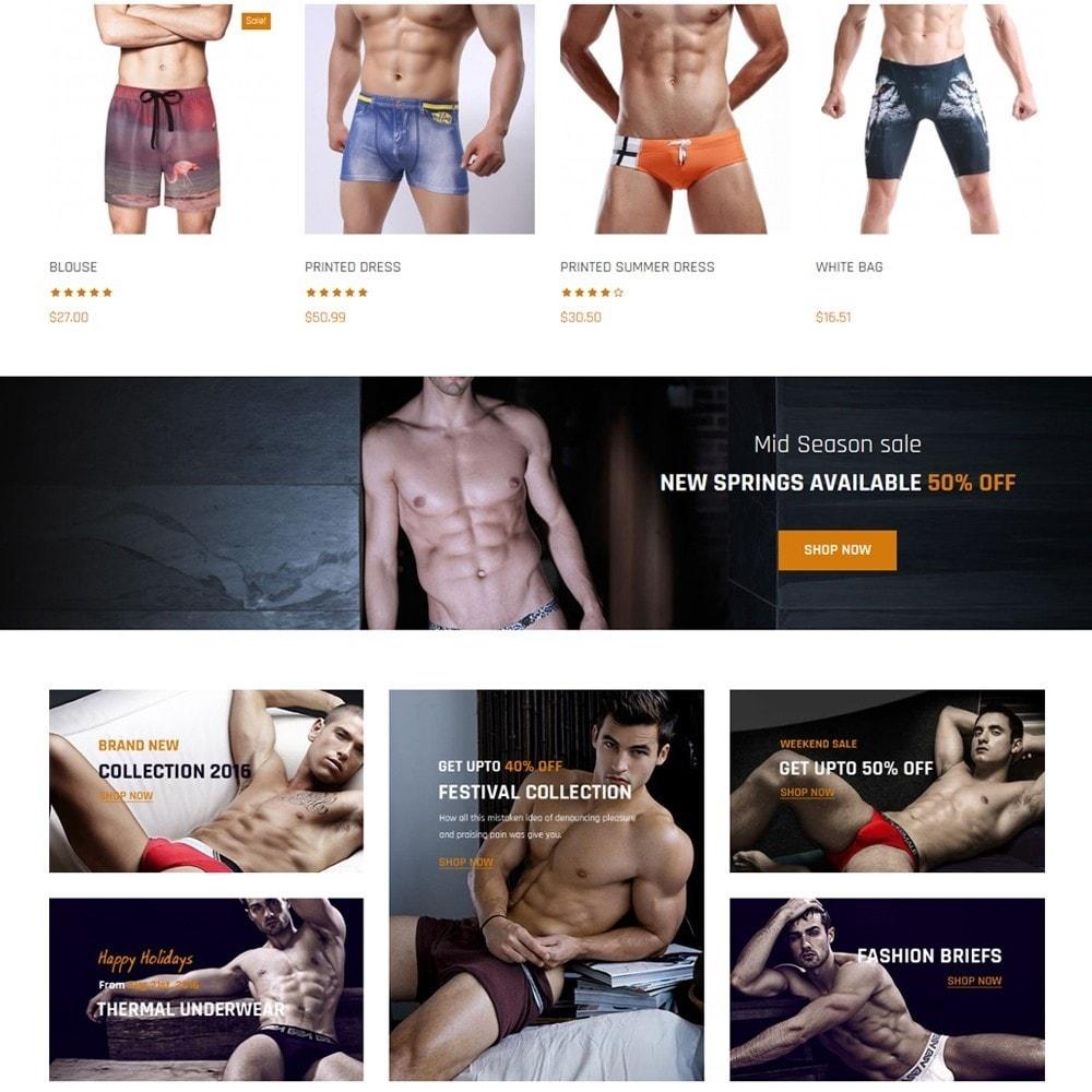 Nocommando Men's Underwear
