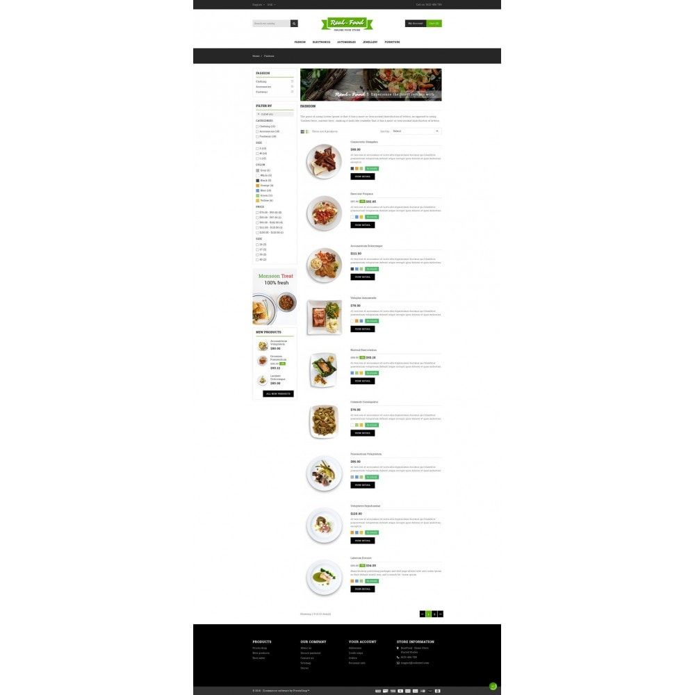 theme - Food & Restaurant - Best Real Food Store - 4