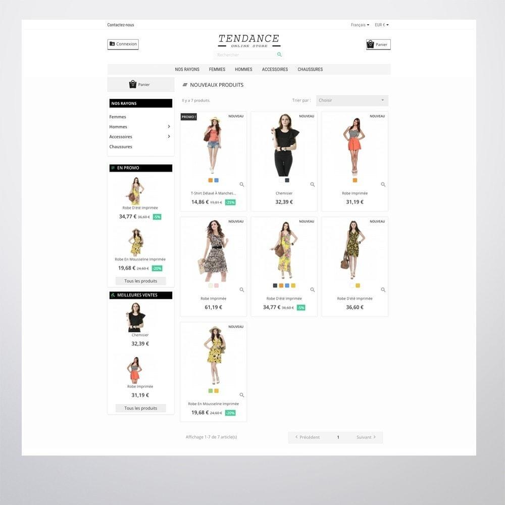 theme - Fashion & Shoes - Tendance - 2