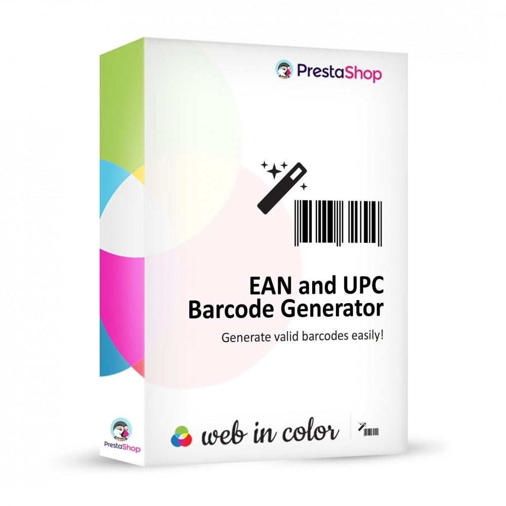 module - Bestands & Lieferantenmanagement - EAN and UPC codes Generator - 1