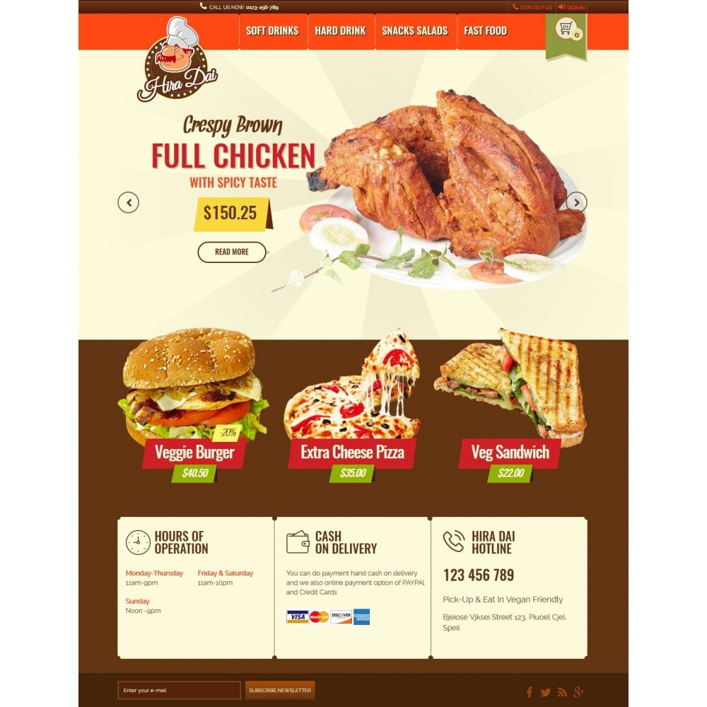 theme - Alimentos & Restaurantes - hiradai - 1
