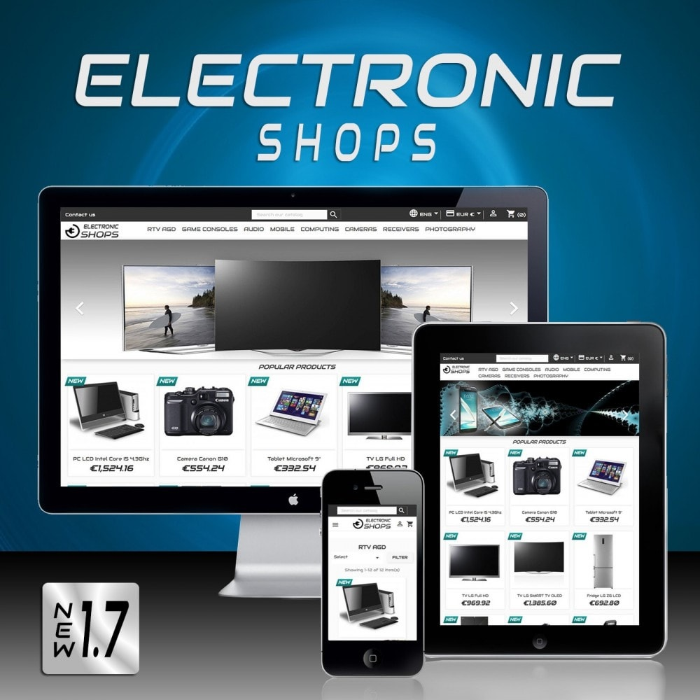 theme - Elettronica & High Tech - Electronicshops - 1