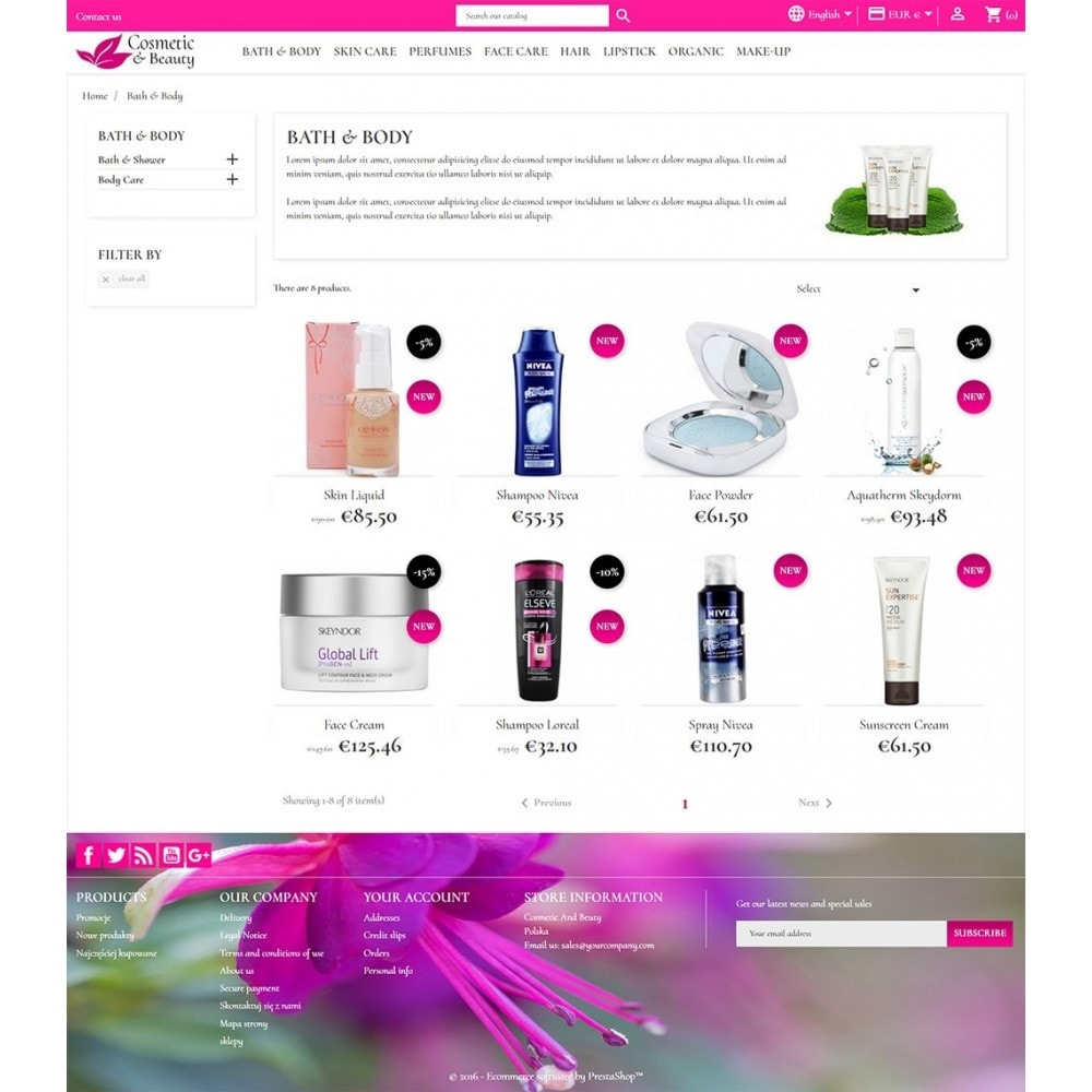 theme - Health & Beauty - Cosmetics & Beauty - 4