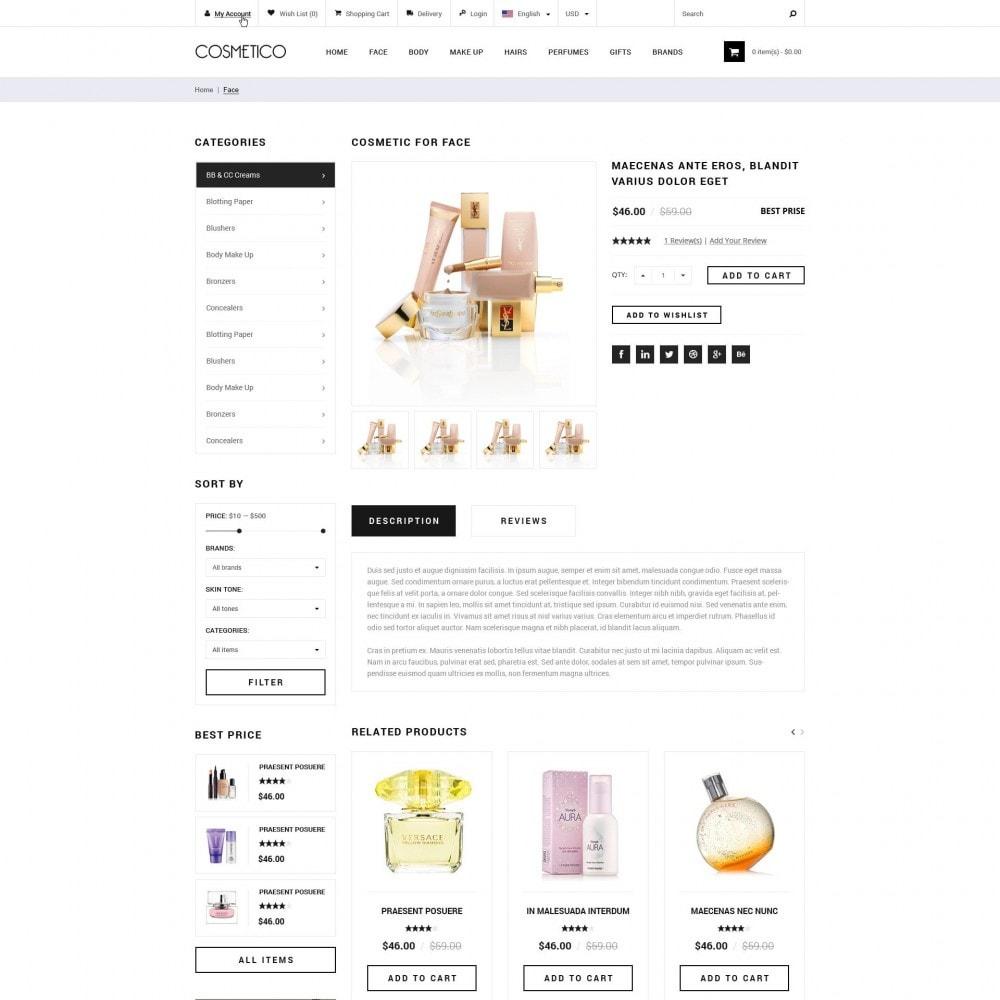Cosmetico - Cosmetics Store