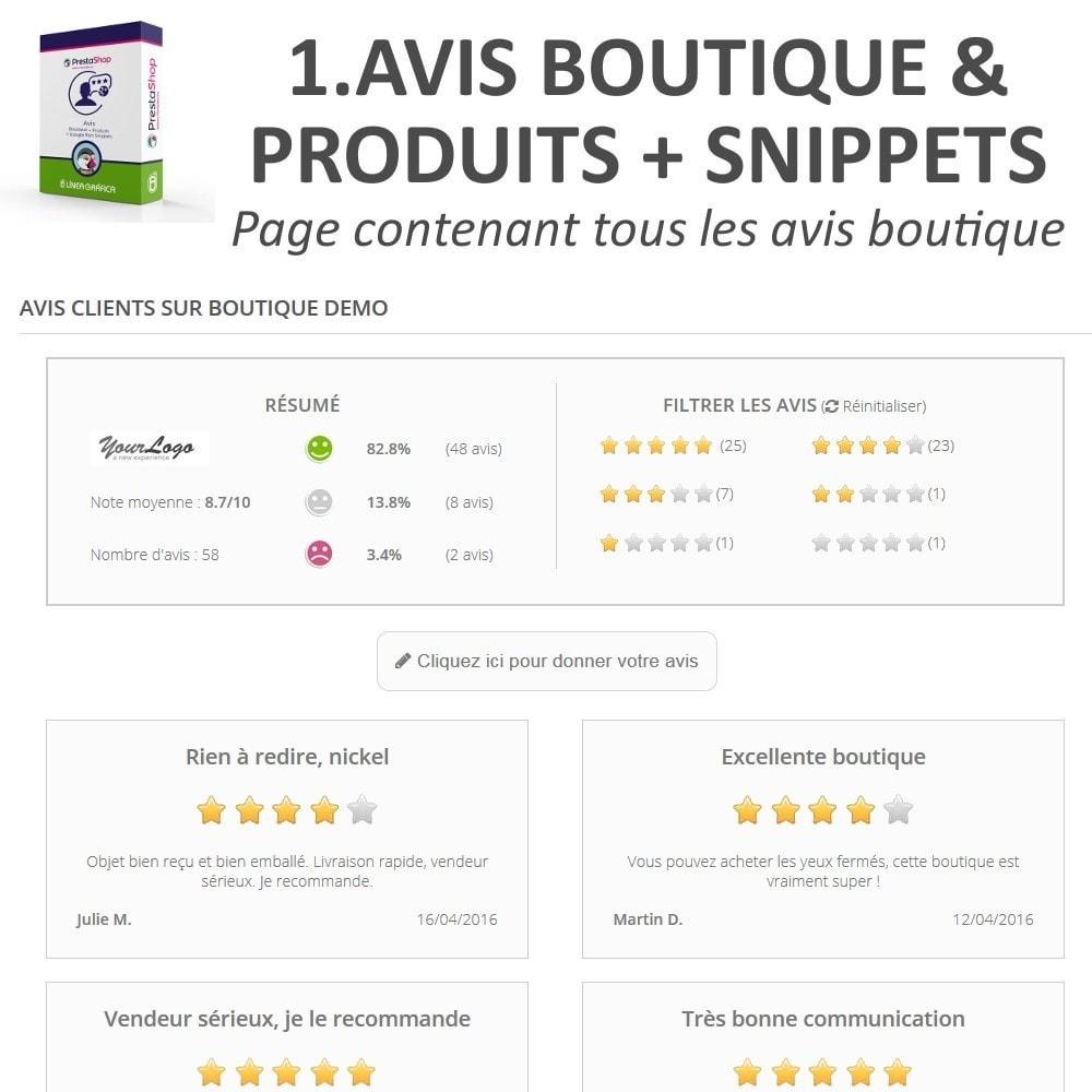 bundle - Avis clients - Confiance - Rassurez vos Clients - 3 Modules - 4