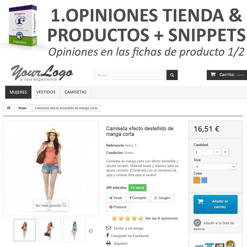 bundle - Comentarios de clientes - Confianza - Tranquiliza a tus Clientes - 3 Módulos - 6