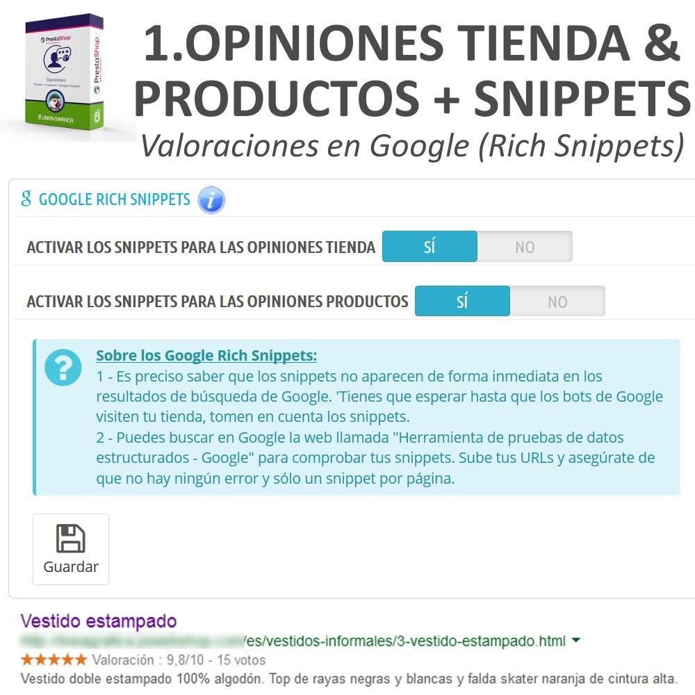 bundle - Comentarios de clientes - Confianza - Tranquiliza a tus Clientes - 3 Módulos - 8