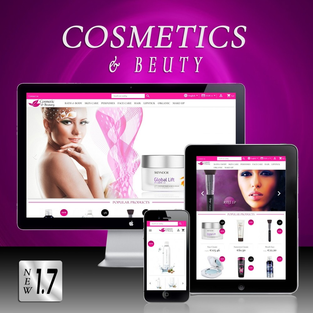 theme - Health & Beauty - Cosmetics & Beauty - 1