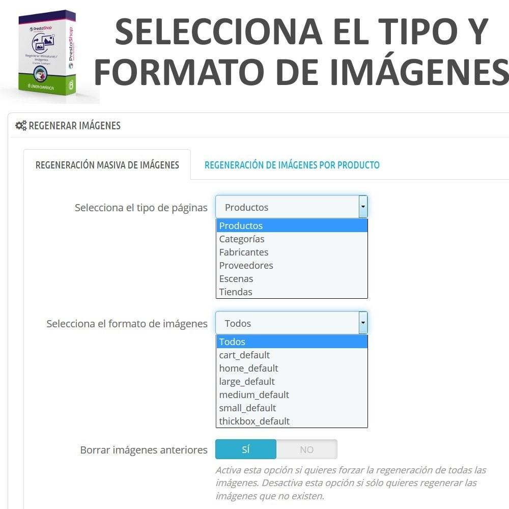 module - Edición Rápida y Masiva - Regenerar Miniaturas / Imágenes para Grandes Catálogos - 3
