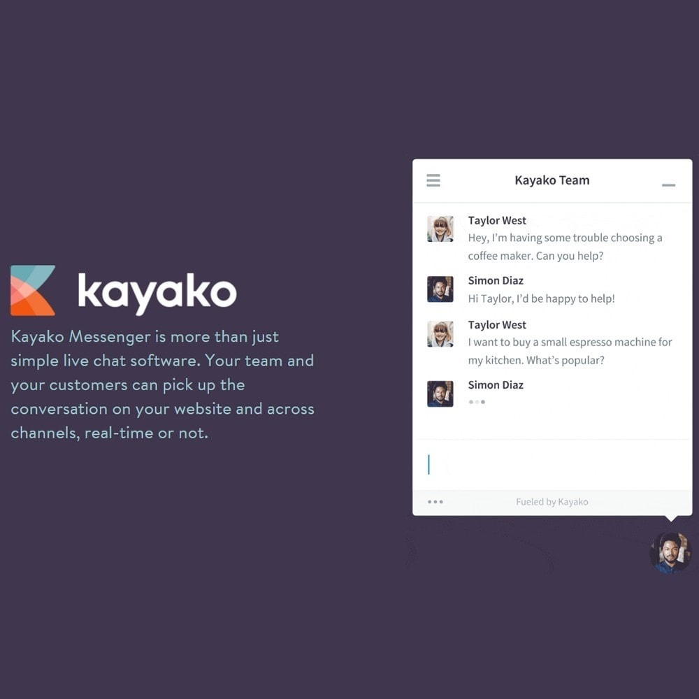 module - Suporte & Chat on-line - Kayako Help Desk Integration - 1