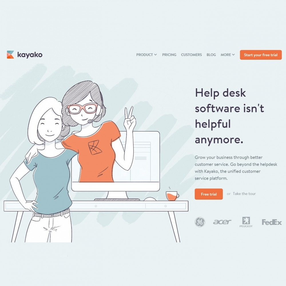 module - Support & Online-Chat - Kayako Help Desk Integration - 3