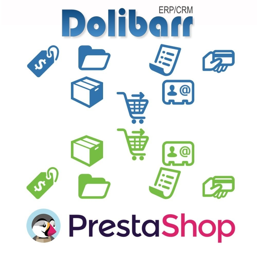 module - Third-party Data Integration (CRM, ERP...) - Dolibarr ERP/CRM synchronization to Prestashop - 1