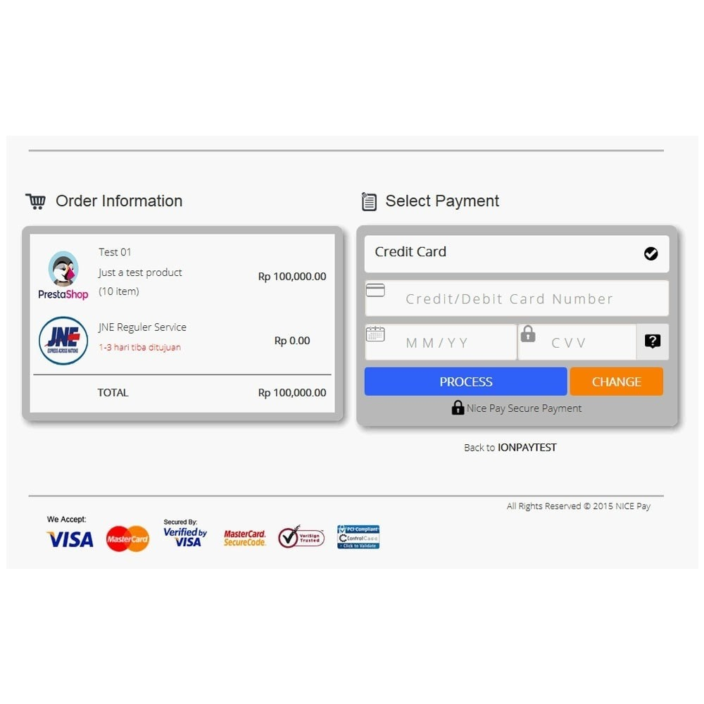 module - Payment by Card or Wallet - Nicepay - 12