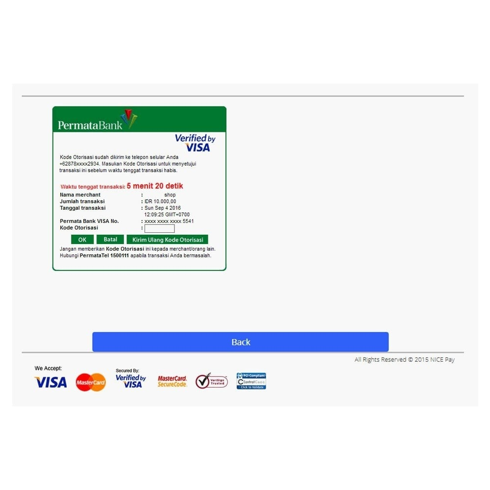 module - Payment by Card or Wallet - Nicepay - 14