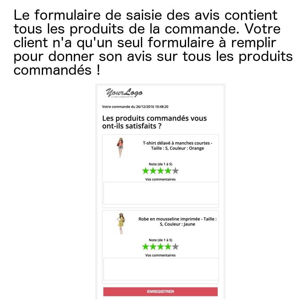 module - Avis clients - Avis produits sur une seule page (+ envoi e-mails) ! - 1