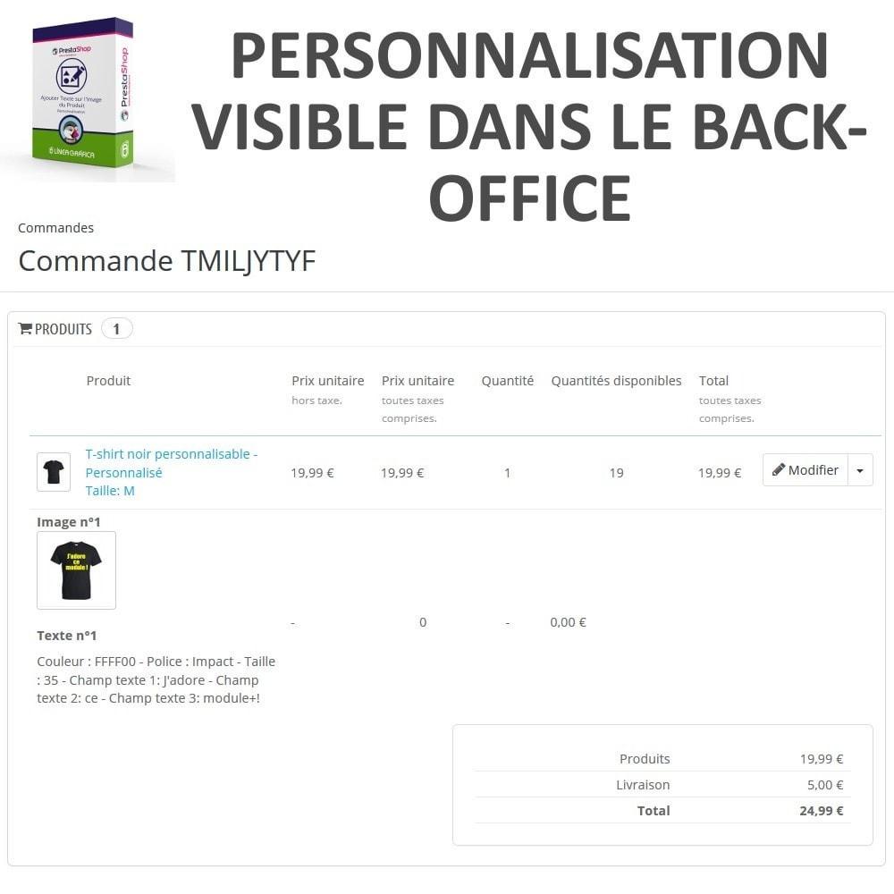 module - Déclinaisons & Personnalisation de produits - Personnalisation Produit - Ajouter du Texte sur l'Image - 8