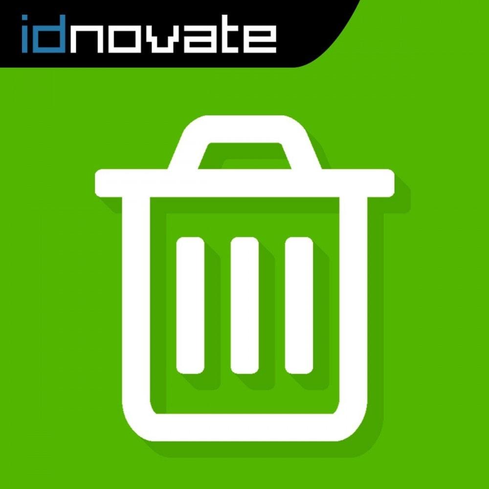 module - Gestión de Pedidos - Borrar pedidos plus - Elimina pedidos fácilmente - 1
