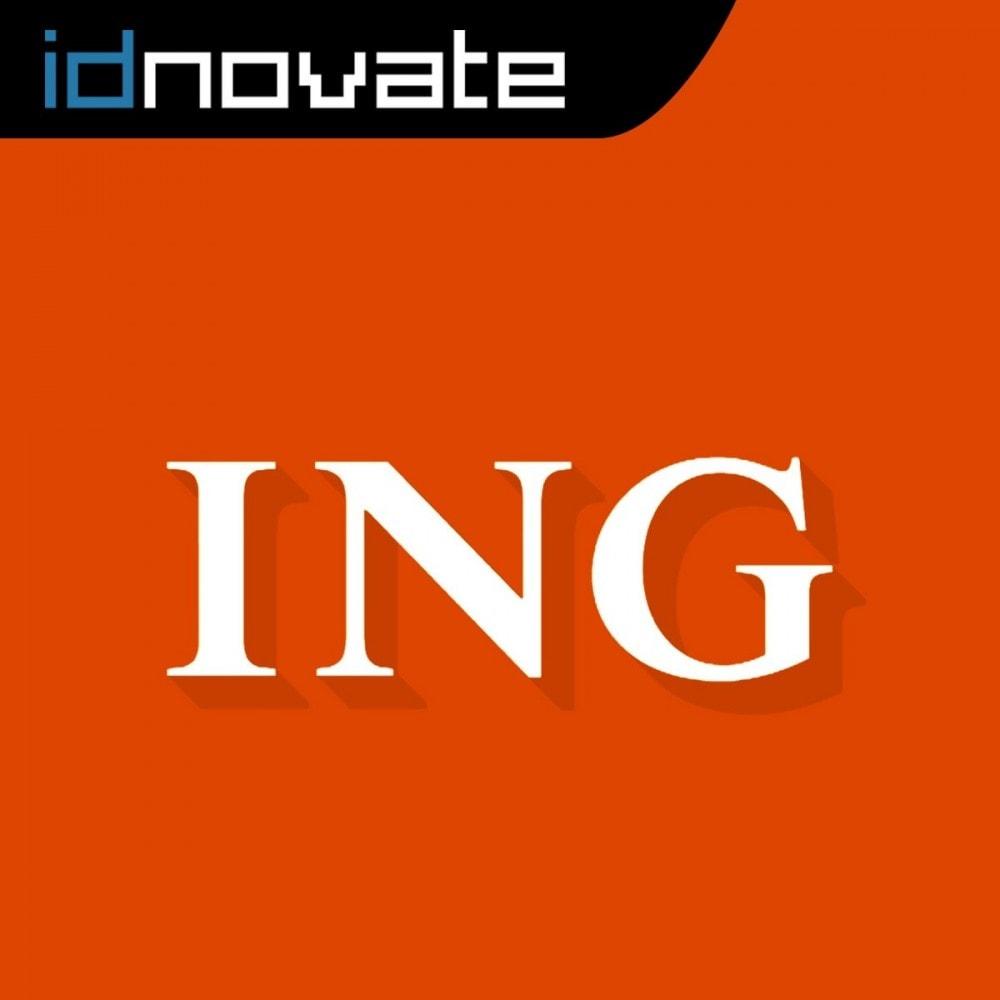 module - Pago con Tarjeta o Carteras digitales - Pago con tarjeta para ING Direct (TPV virtual) - 1