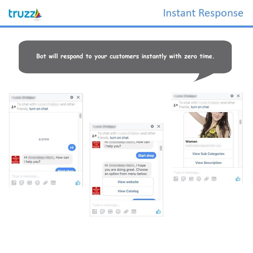 module - Support & Online Chat - Chat Bot for Social Networking - 2