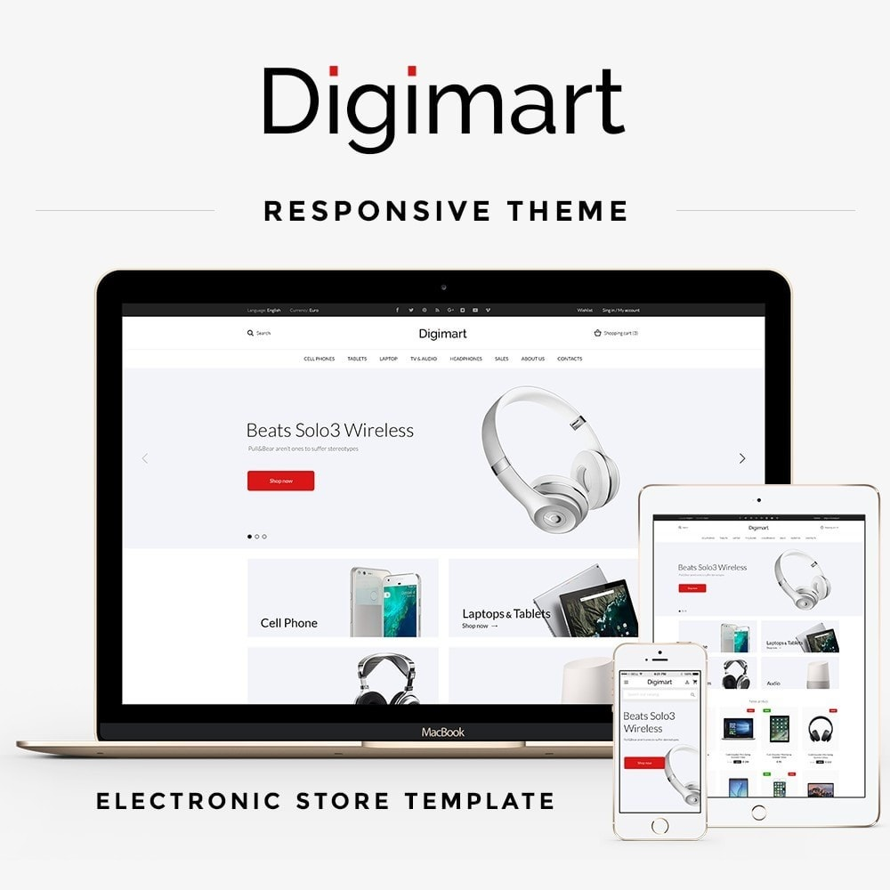 theme - Electronics & Computers - Digimart - Electronics High-tech Shop - 1