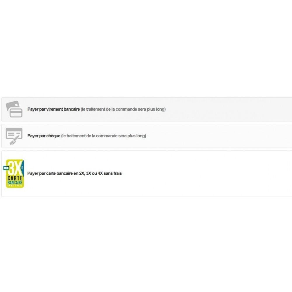module - Paiement par Carte ou Wallet - 3XCB - 2