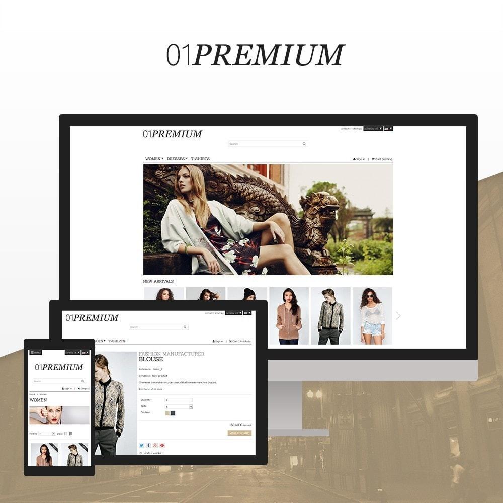 01 Premium pour Prestashop 1.7
