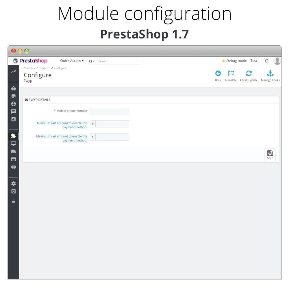 module - Inne środki płatności - Twyp - Mobile payment - 2