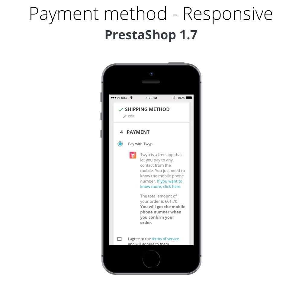 module - Other Payment Methods - Twyp - Mobile payment - 6