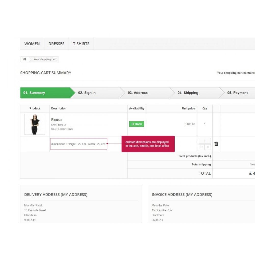 module - Größen & Einheiten - Product Price By Size - 3