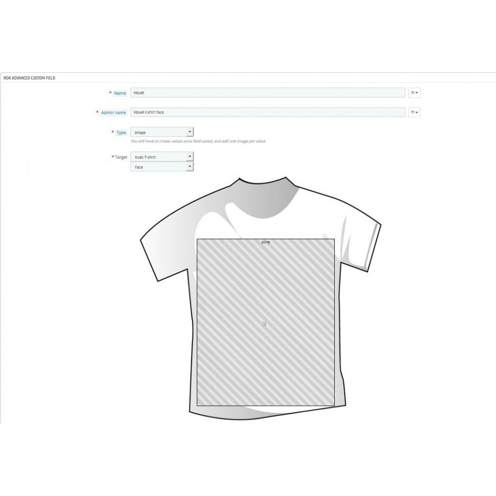 module - Bundels & Personalisierung - Modul für Produkt-Optionen und Individualisierung - 13