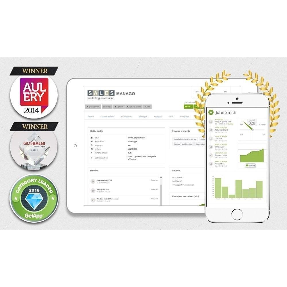 module - Remarketing & Warenkorbabbrüche - SALESmanago Marketing Automatisierung für E-commerce - 1