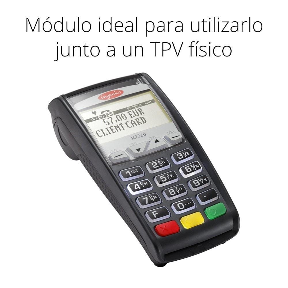module - TPV (POS) - Pago offline/manual con tarjeta de crédito/débito - 2