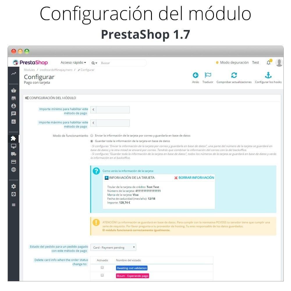 module - TPV (POS) - Pago offline/manual con tarjeta de crédito/débito - 5