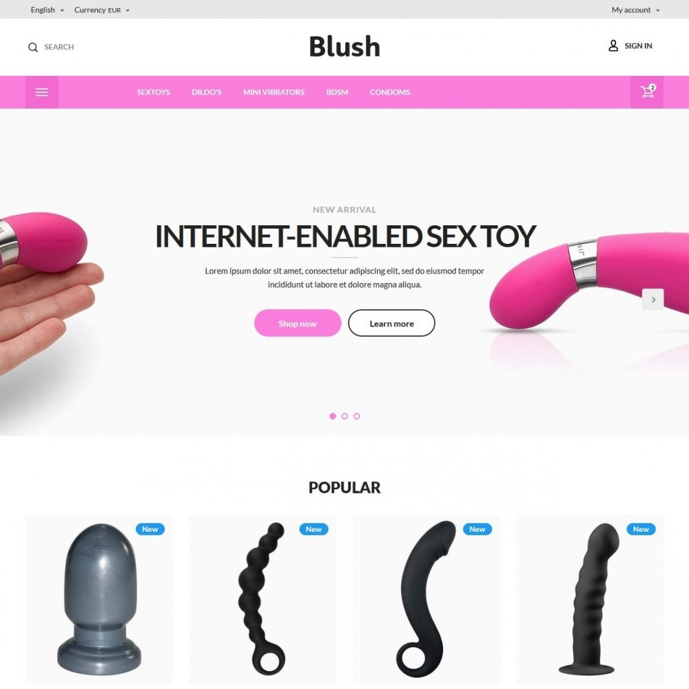 Blush - Sex Shop