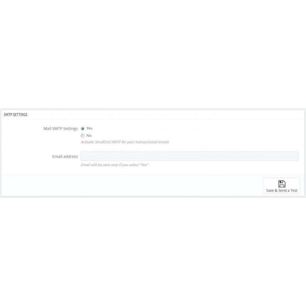 module - Newsletter y SMS - SendGrid SendSync - 4