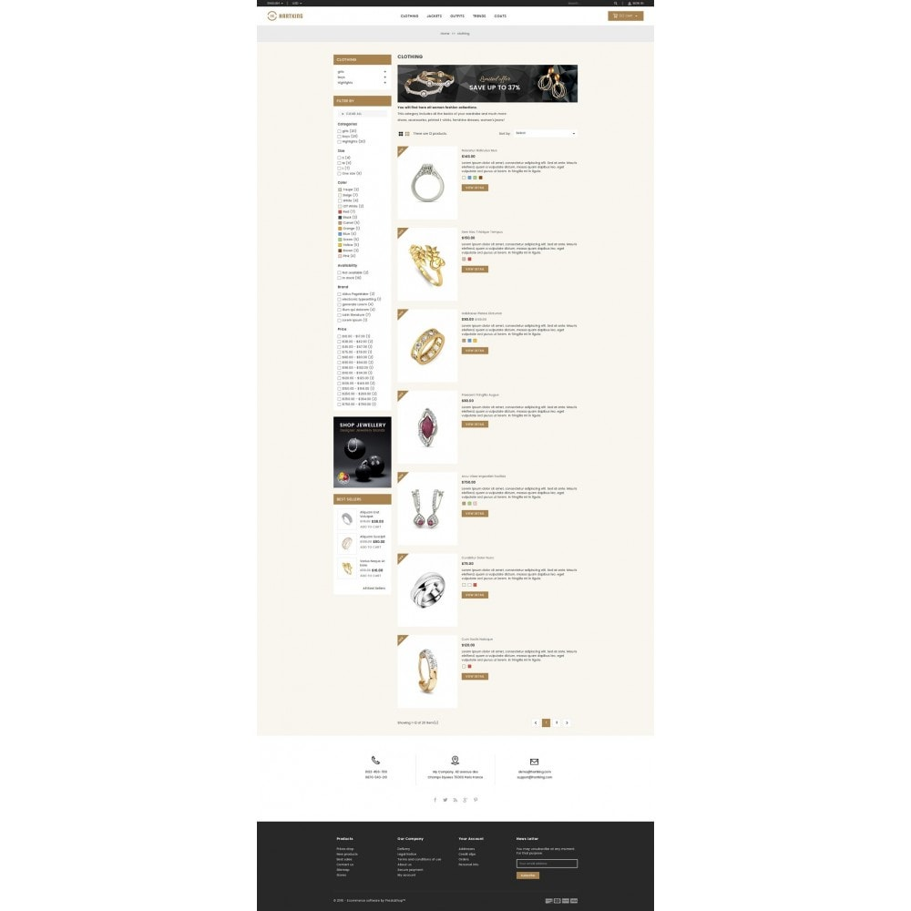 theme - Joyas y Accesorios - Hartking Jewelry Store - 4