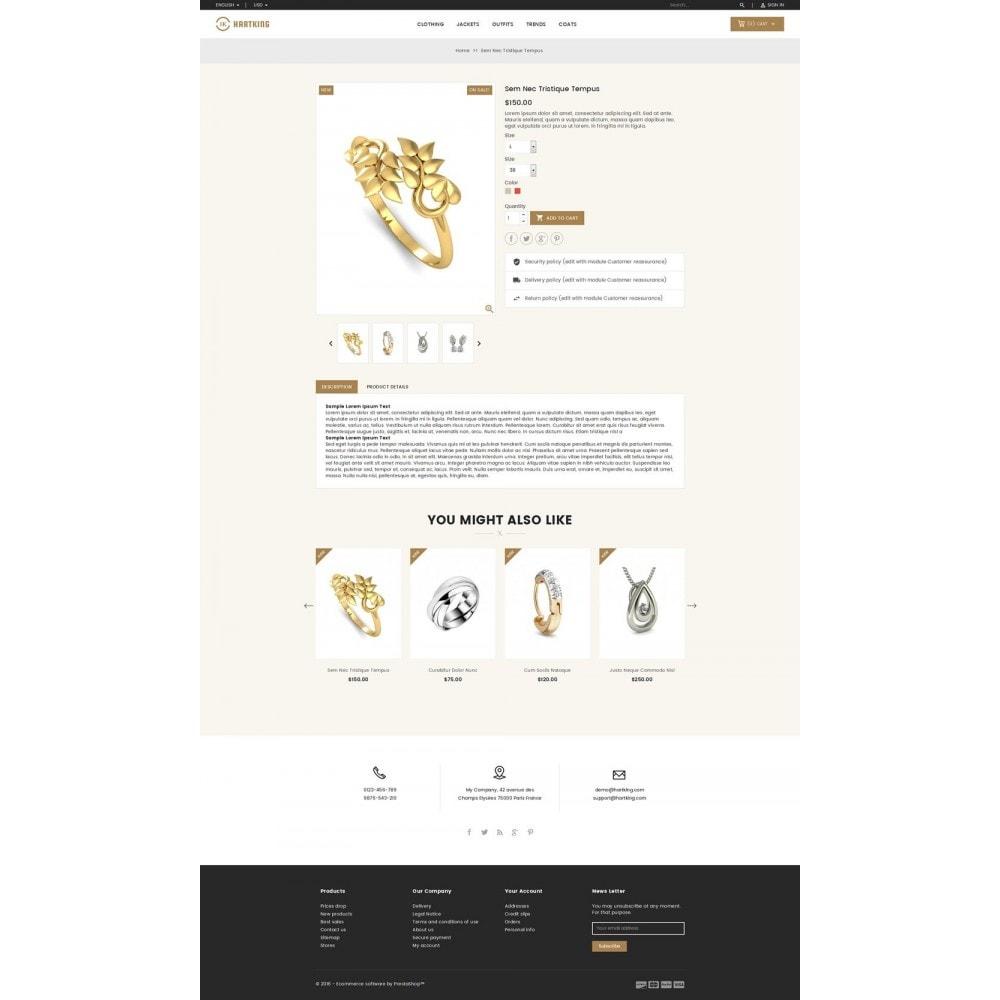 theme - Joyas y Accesorios - Hartking Jewelry Store - 5