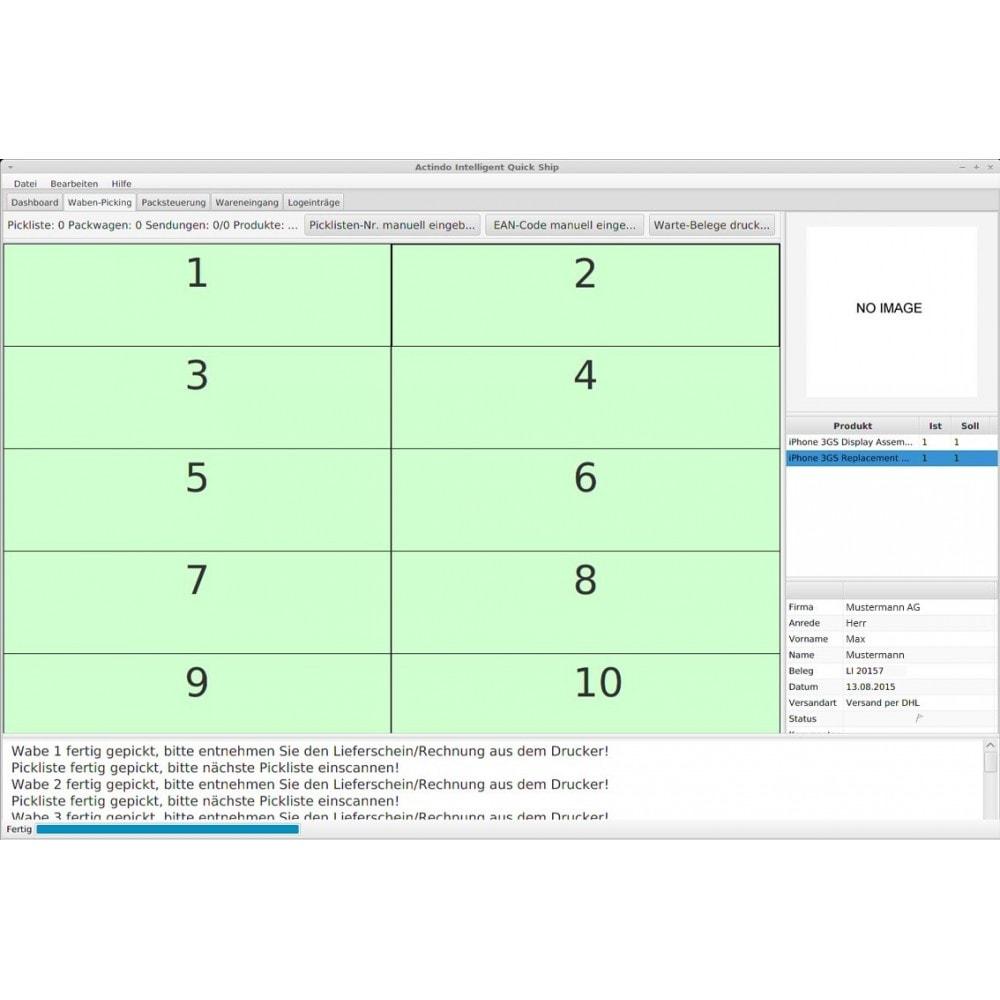 module - Data Integraties (CRM, ERP...) - Actindo RetailSuite ERP Connector - 4