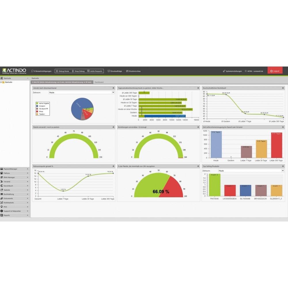 module - Datenabbindungen zu Drittsystemen (CRM, ERP, ...) - Actindo RetailSuite ERP Connector für PrestaShop - 1