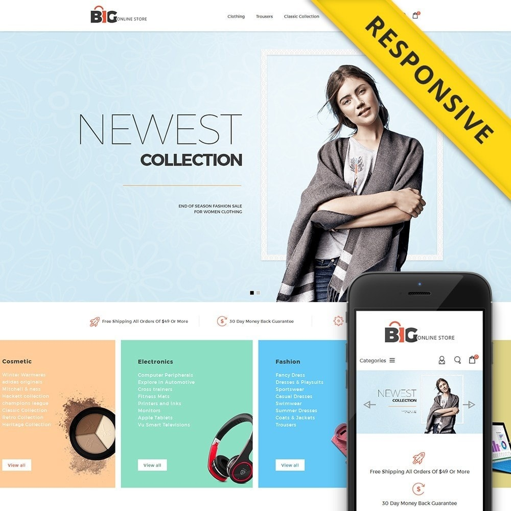 theme - Mode & Schoenen - Big Online Store - 1