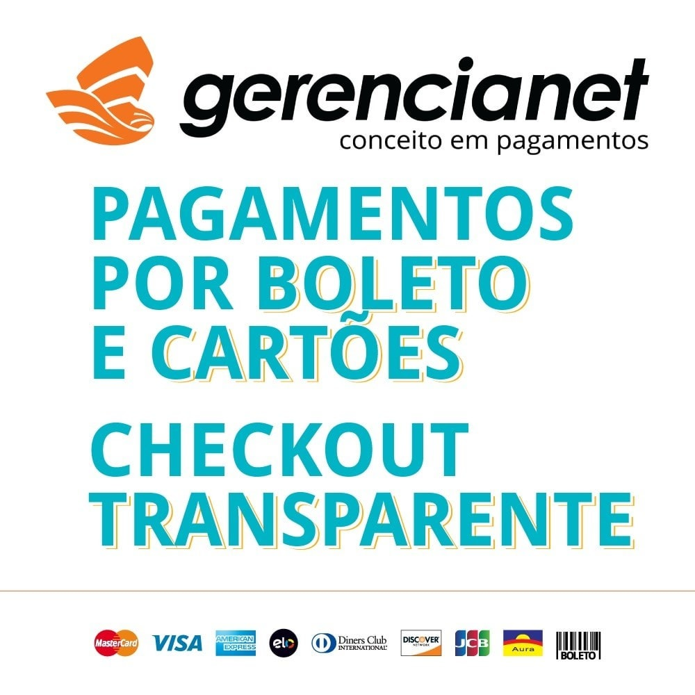 module - Payment by Card or Wallet - Brazilian payment via Gerencianet - 1