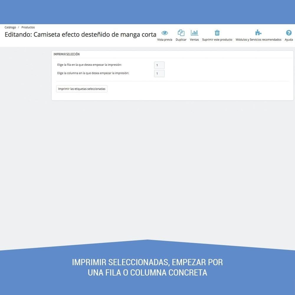 module - Preparación y Envíos - Etiquetas para productos EAN13 UPC - 11