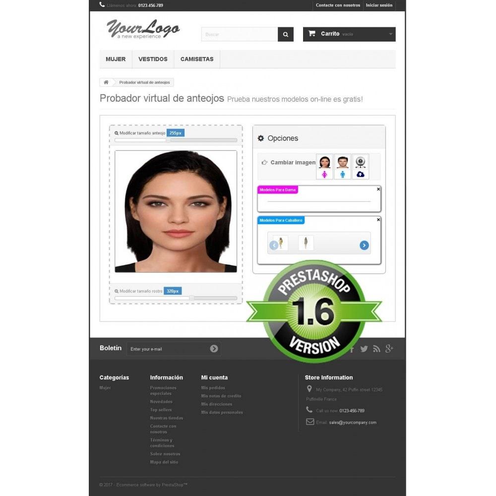 module - Productos Digitales (de descarga) - Probador virtual de anteojos on-line - 5