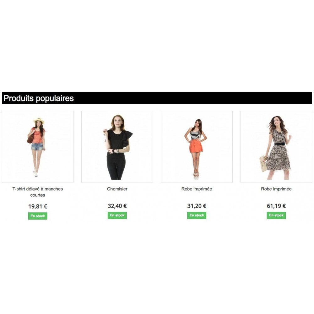 module - Page Customization - Customize Homepage - 2