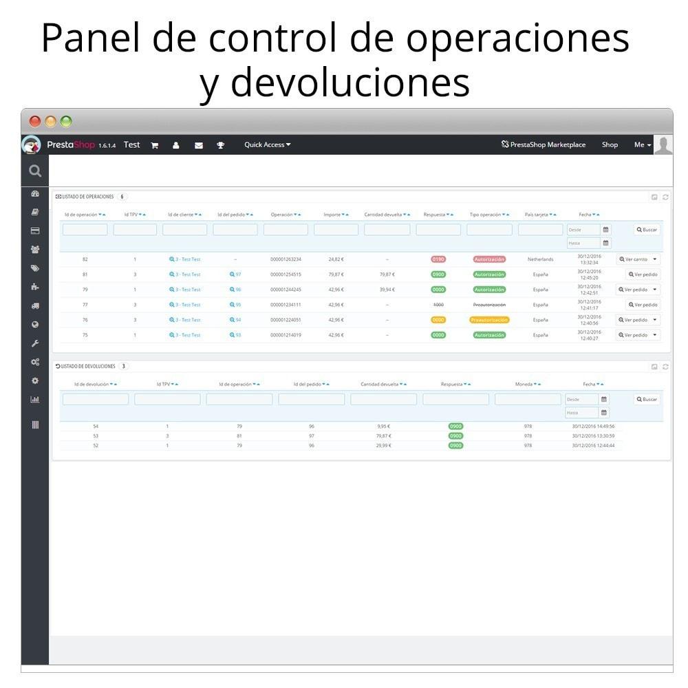 module - Pago con Tarjeta o Carteras digitales - Redsys pago integrado tarjeta y gestión de devoluciones - 4