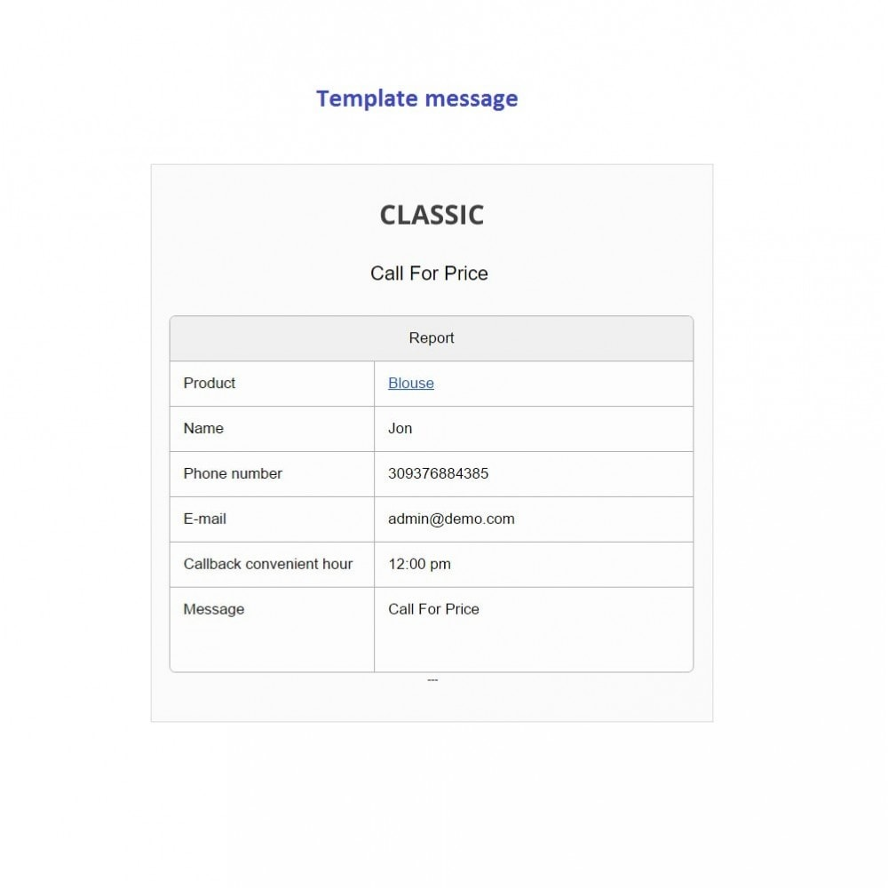 module - Support & Online Chat - Call For Price + Call Back Product Button - 6