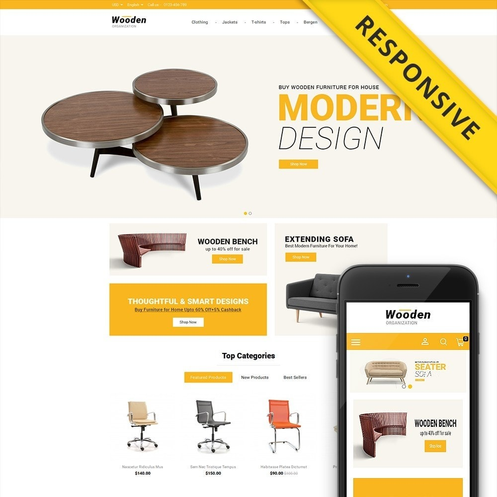 Wooden Furniture online Store