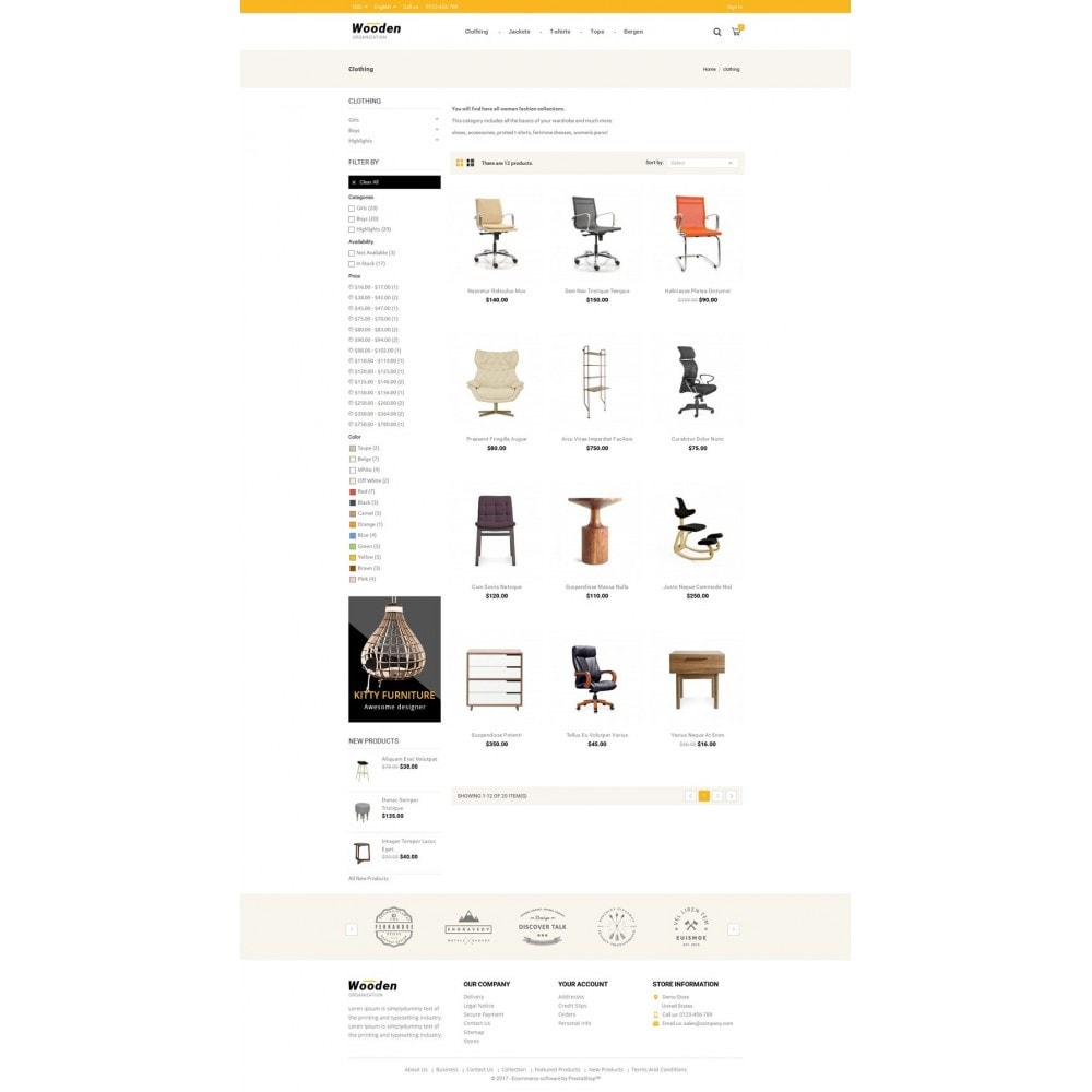 Wooden Furniture online Store