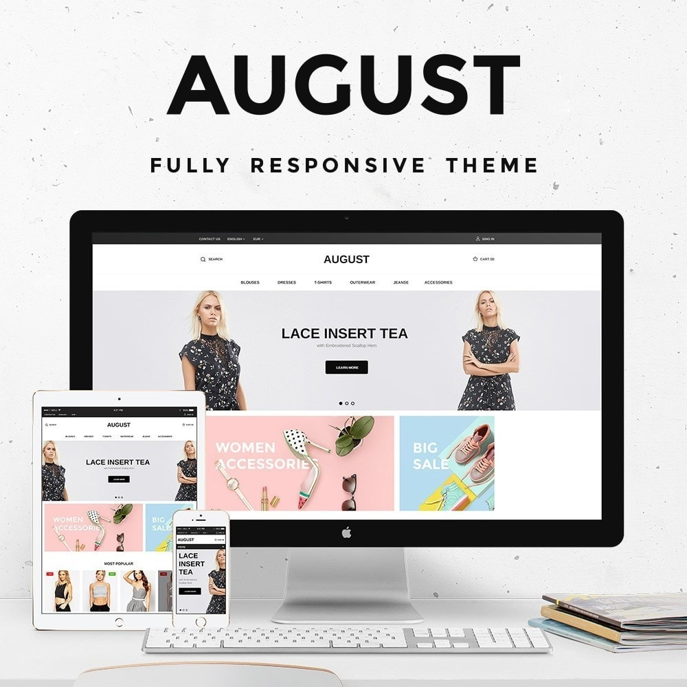 theme - Moda & Obuwie - August Fashion Store - 1
